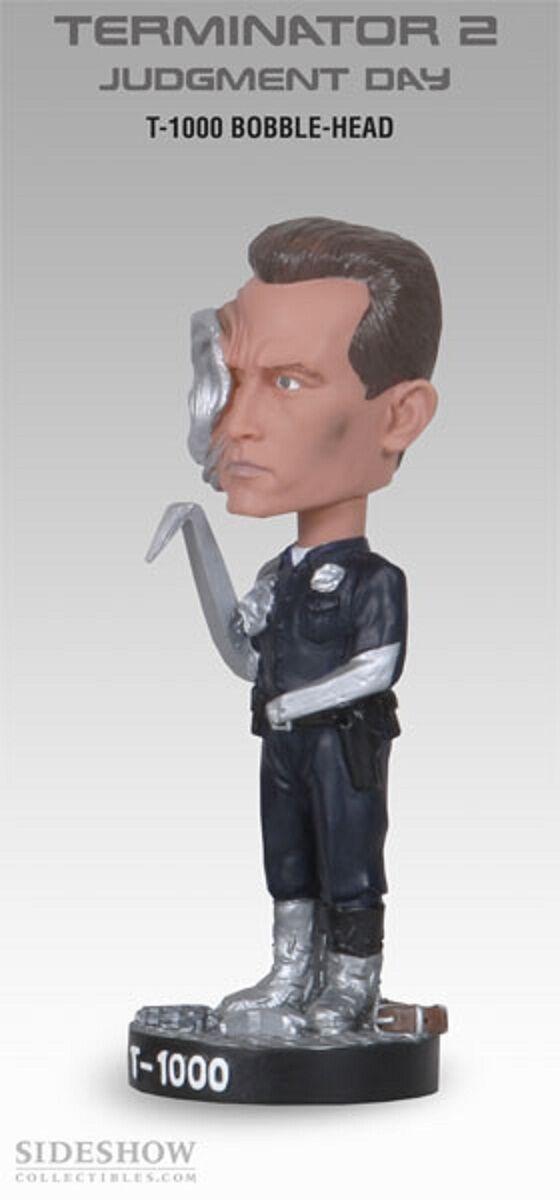 Hot T-1000 Cabezón Aldaba Terminator 2 el juicio día T 800 Figura Juguetes Bobble