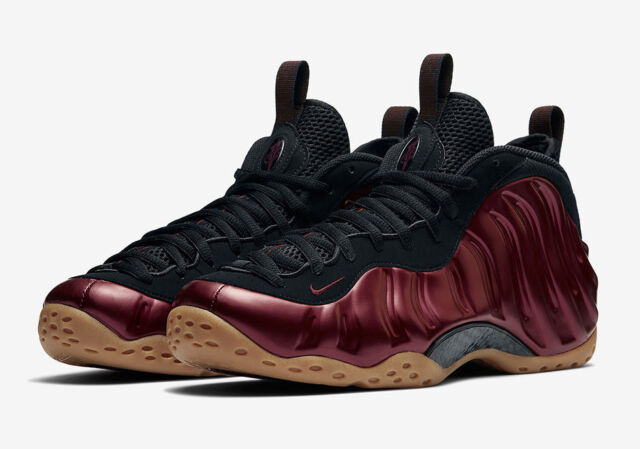 low priced 17662 5994a Nike Air Foamposite One Size 10 Night Maroon Gum Black 314996 601