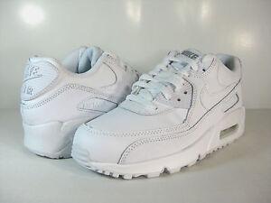 detailed look 34ab1 8053c La foto se está cargando Nike-Air-Max-90-gs-white-wolf-Gris-