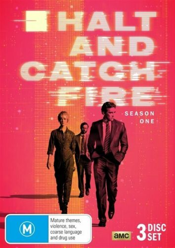 1 of 1 - Halt And Catch Fire : Season 1 : NEW DVD