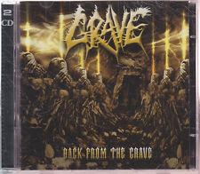 """GRAVE """"Back From The Grave"""" CD-Album (+ Bonus Demos CD)"""