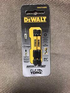 Lot of 5-2 Pack DEWALT Power Bits T40 DWA2TX40IR2