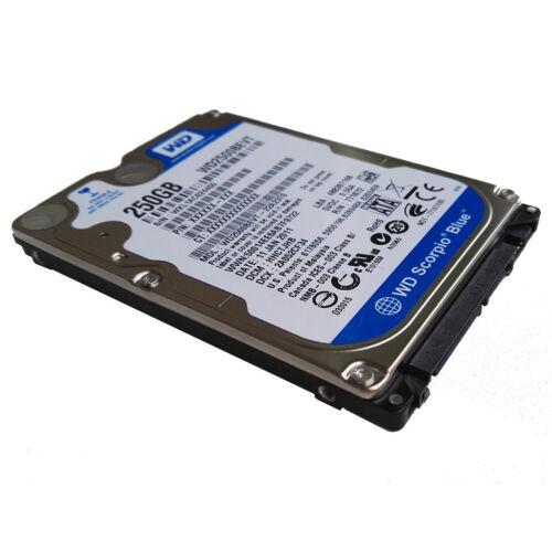 "Western Digital 250GB WD2500BEVT 5400RPM SATA 2.5/"" Laptop HDD Hard Drive"