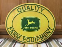 John Deere Tractor Metal Quality Farm Equipment Signs Implements Tractors