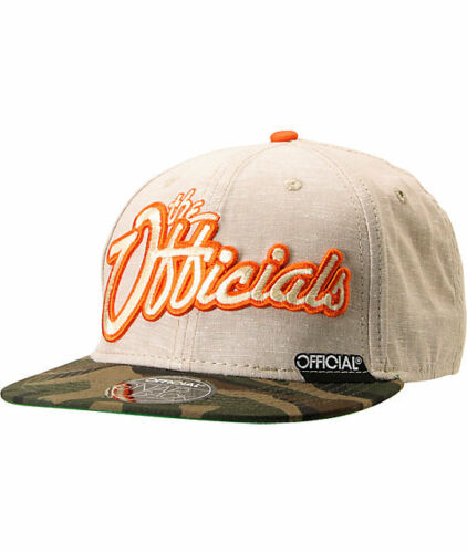 NEW Cap Adjustable OFFICIAL Hat WARS /& VACATIONS SNAPBACK Beige Camo OSFA $32