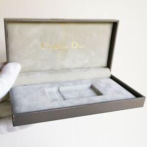 Scatola Christian Dior Box Custodia Case Accendino Lighter Astuccio Fodero Paris Sensation Confortable