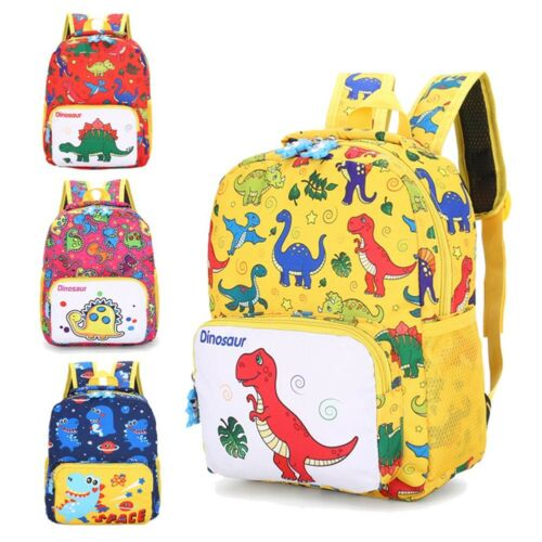 Infant Cartoon Bag Children/'s School Bag Dinosaur Backpack Rucksack LuGe lskn