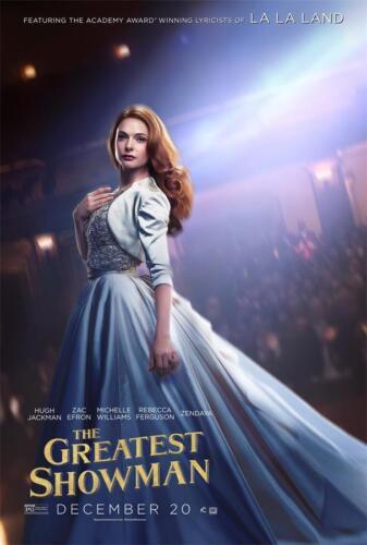 "Hugh Jackman Film The Greatest Showman Movie Fabric Poster 18x12 36x24 40x27/"""