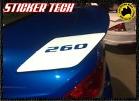 PAIR OF FPV BA BF REAR WING STICKER DECAL SUITS FORD FALCON BOSS 260 290 XR6 XR8