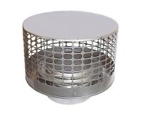 Stainless Steel Liner Top Chimney Caps For Factory Build Triple Wall Chimneys