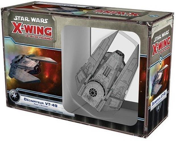 Estrella Wars FFGSWX 24 X-Wing Miniaturas Juego VT-49 Decimator Paquete de expansión