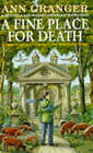 A Fine Place for Death by Ann Granger (Paperback, 1994)