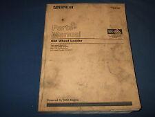 CAT CATERPILLAR 990 WHEEL LOADER PARTS BOOK MANUAL S/N 7HK1-99999