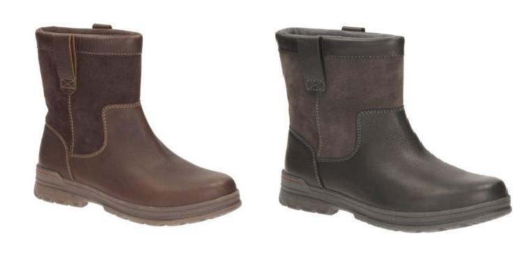 Clarks Ryerson Peak Black or Brown Winter Warm Lined Work Boot Sizes 6.5 - 12