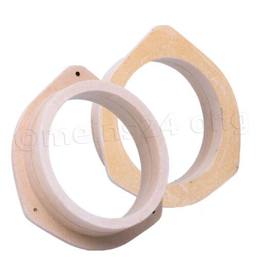 Seat exeo toyota yaris p1 Yaris Verso MDF adaptador anillos 165mm altavoces anillo