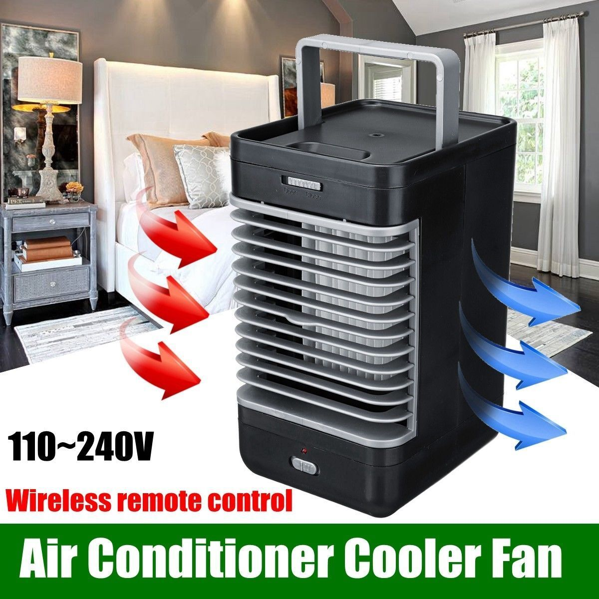 Arctic Portable Air Conditioner Wireless Cooler Purifier Fan