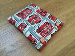 Handmade with Cath Kidston London Buses  Kindle Paperwhite Fabric Case - <span itemprop=availableAtOrFrom>Wilmslow, United Kingdom</span> - I hope you will be delighted with your purchase. If however, you should wish to return an item please notify me stating the reason why within 48 hours of receipt and return the goods in  - Wilmslow, United Kingdom