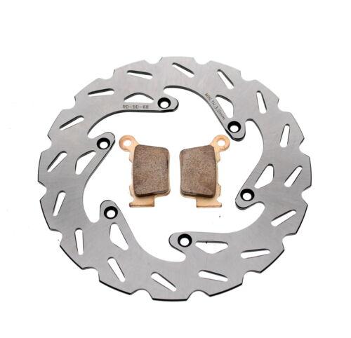 Brake Rotor /& Brake Pads for KTM 450 SX-F 2003-2020 Rear RipTide Brake Disc