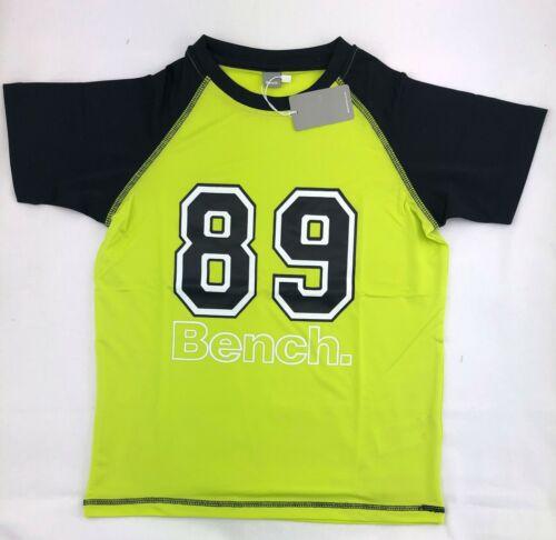 Trainingsshirt  mit Kontrastfarben   Gr Bench T-Shirt 128//134