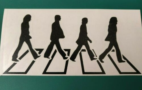 Laptop//Ipad//Car//Van//Bike//Bumper//Window Vinyl Decal Sticker Beatles Abbey Road 2