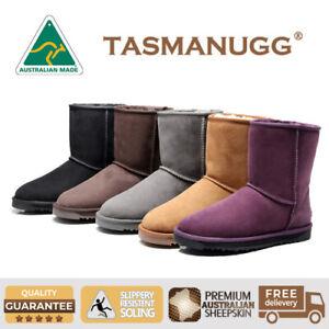 0990dc076fe Details about Tasman UGG-Short Classic Boots,Australian Made,Premium  Australian Sheepskin,5 Cl