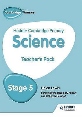 Hodder Cambridge Primary Science Teacher's Pack 5 by Helen Lewis (Paperback,...