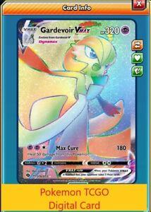Gardevoir Vmax 076//073 Champion/'s Path Pokemon PTCGO Sent Fast Digital Card