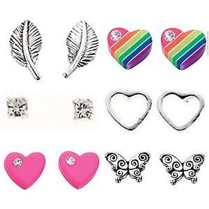 925 sterling silver studs earrings designs girls womens childrens