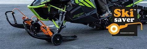 SKI SAVER FLEX SNOWMOBILE WHEELS Snowmobile Dolly Set Skisaver Flex