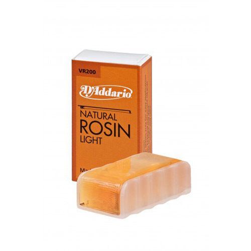 D/'Addario Natural Rosin Violin-Viola-Cello Light Rosin