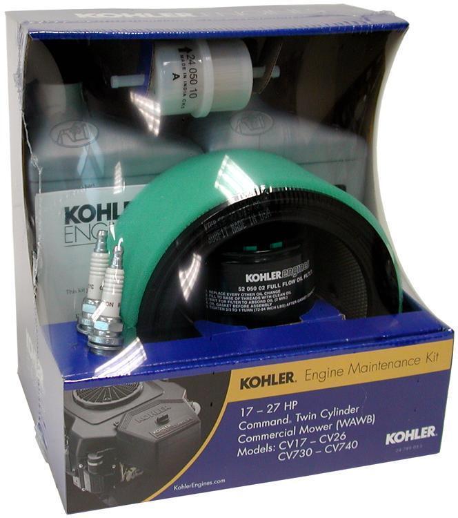 Kohler Tuneup Kit 24 789 03-s Comando cv17-25 cv730-740