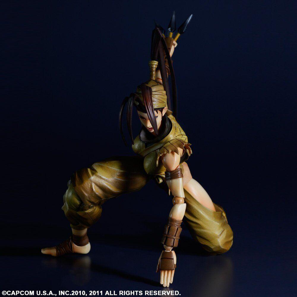 Kai super street fighter iv spielen kunst für ibuki square enix actionfigur.