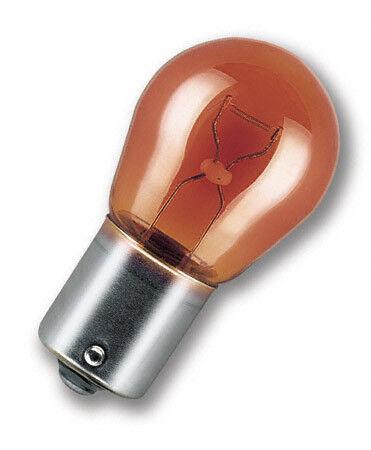 PY21W 12V 21W ARANCIONE 1 Lampada Lampadina Luce OSRAM ORIGINAL S25 BAU15s