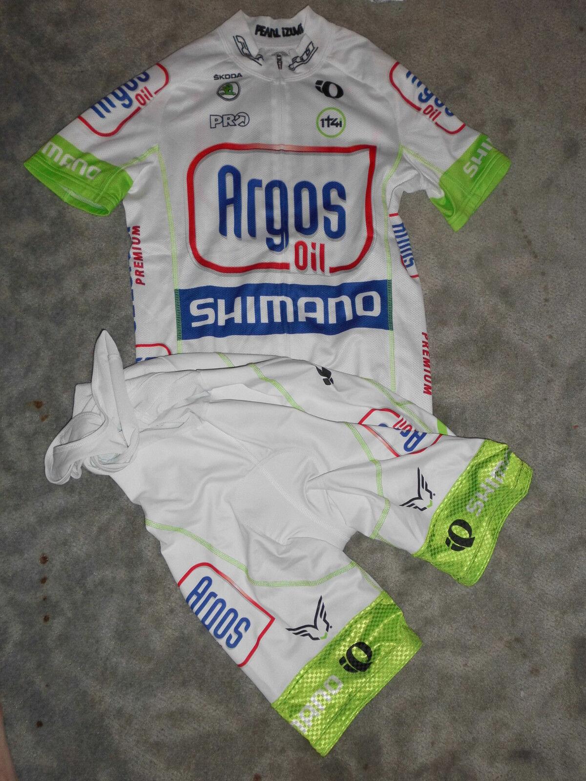 Original Pearl Izumi Team 1t4i 1t4i 1t4i Argos Shimano Climber Jersey & bib short 816201
