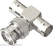 "BNC ""Tee"" RF Adapter - Female / Male / Female.  Pack of  6 - CLEARANCE PRICING!"