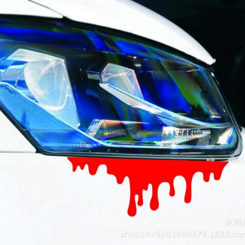 1 X Reflective Warning Car Stickers Blood Bleeding Decals Car Decor Best EC