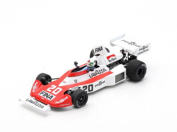 Spark model 1 43  s5930 Williams fw04 f.1 Ford  20 USA GP 1975 Lella Lombardi  différentes tailles