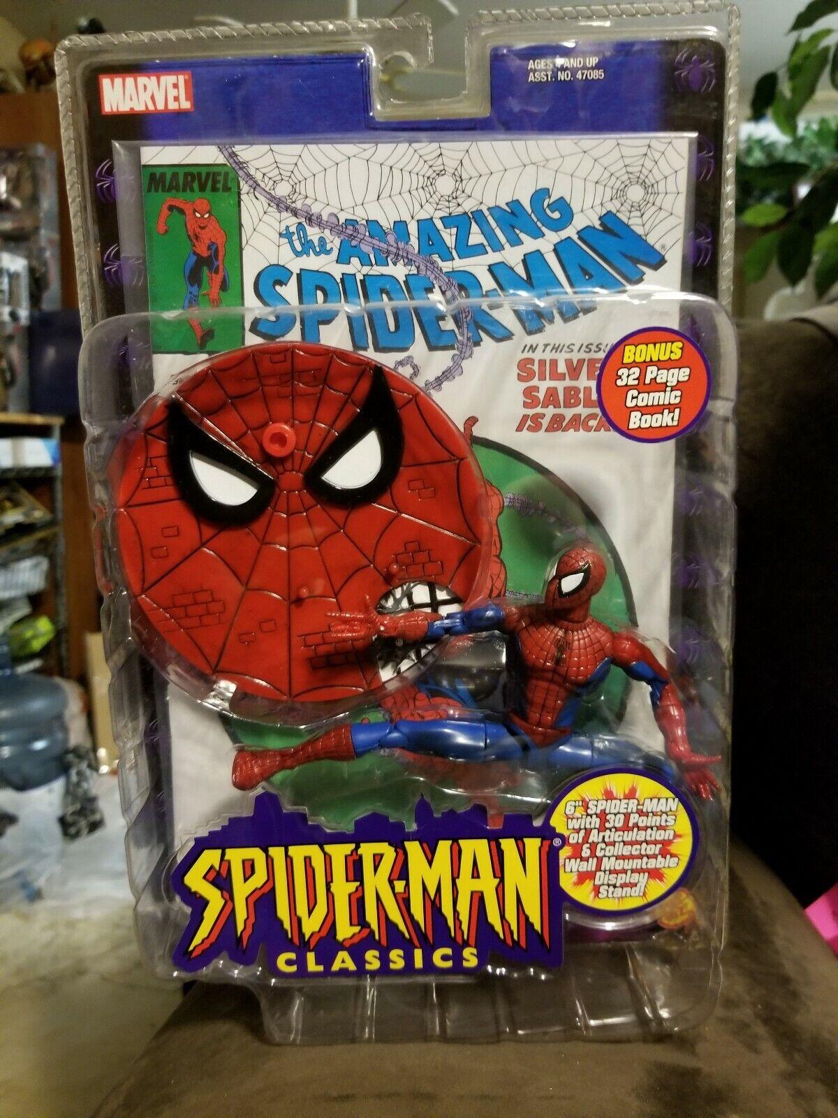 solo cómpralo TOY BIZ figuras figuras figuras de acción MARVEL leyendas clásicos 2000 The Amazing Spider-Man  de moda