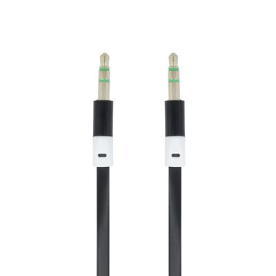 Tv- & Heim-audio-zubehör 1m Aux Kabel Stereo 3,5mm Klinke Audio Klinkenkabel Für Handy Auto Schwarz