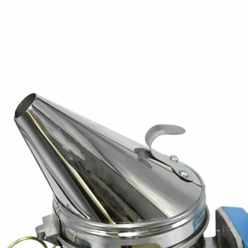 Electric Bee Smoker Beekeeping Hive Equipment Farm Stainless Steel Kit Tool New