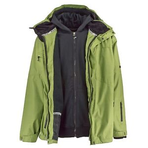 7d3e6c3f0260 BORNE MEN S WATERPROOF 3 IN 1 SNOWBOARDING SYSTEM JACKET WITH ...