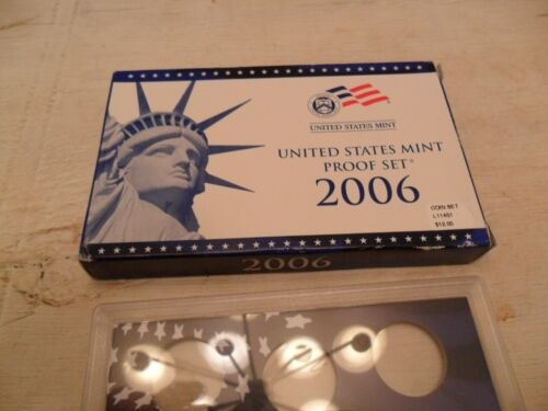 2006 Proof Set Box and Lenses ONLY