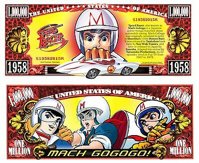 SPEED RACER Novelty Bill plus protector with Free Shipping