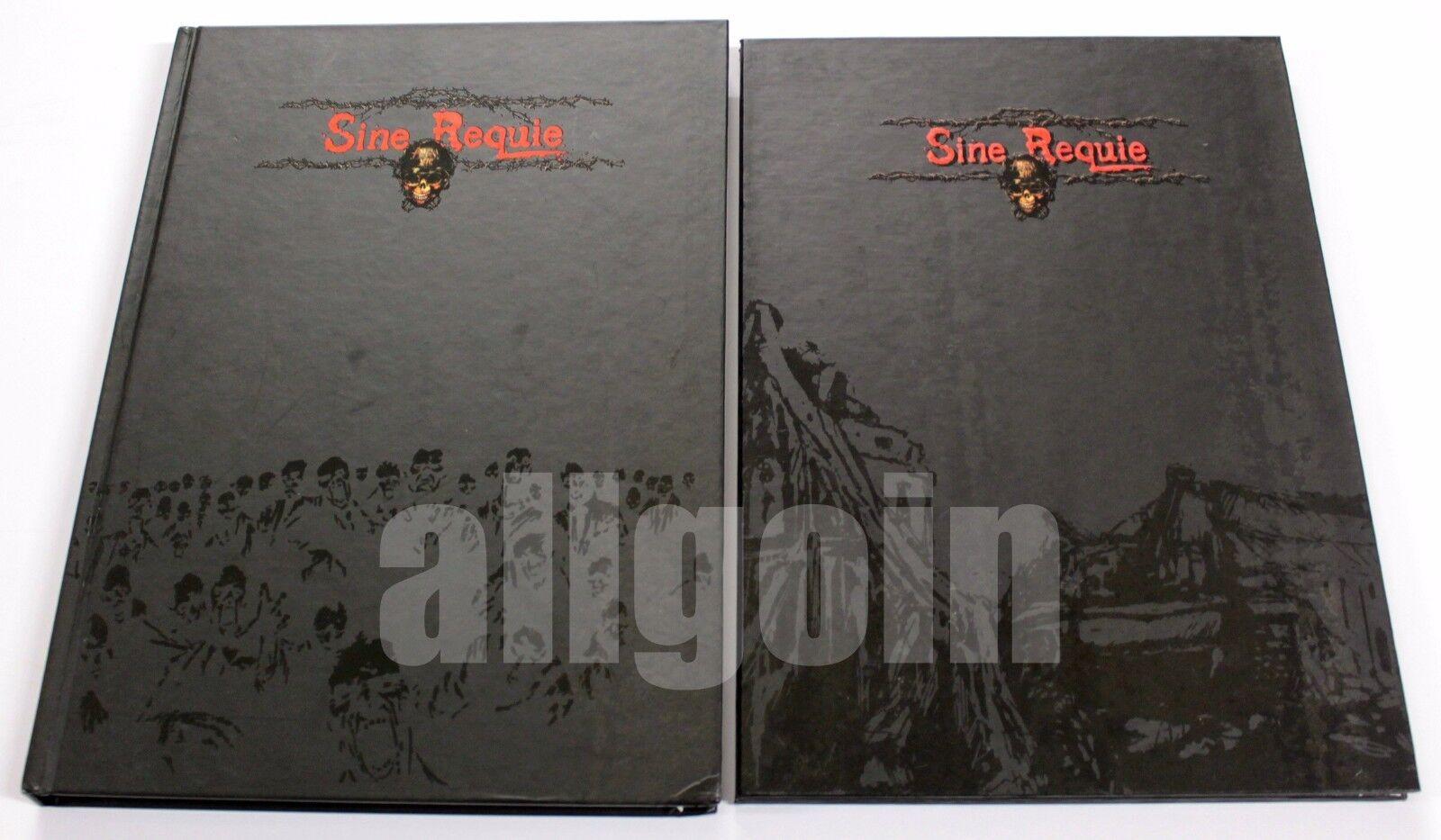 Sine Requie Anno XIII MANUALE BASE (Prima Edizione) + SCHERMO 2007 Asterion RARI