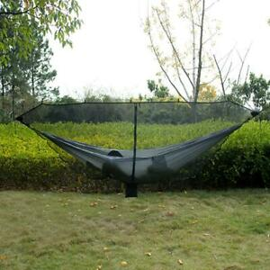 Portable-Double-Hammock-Camping-Mosquito-Net-Netting-Hanging-Bed-Tent-Outdoor