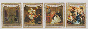 Burundi-Stamps-1971-Paintings-4v-set-used-cto-UNESCO-campaign-to-save-Venice