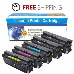 5-Pack-Color-CF360X-Toner-For-HP-508X-LaserJet-Enterprise-M552-M553dn-M553x-M577