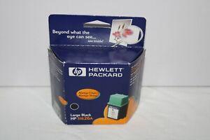 HP 51626A Large Black Inkjet Print Cartridge - Exp Mar 2002 - Hewlett Packard