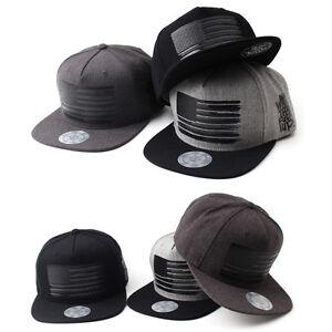 3b6349656 Details about Unisex Mens Womens Flipper USA American Flag Baseball Cap  Snapback Hip-hop Hats