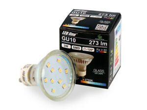 LED-Line-GU10-3W-LED-Leuchtmittel-Warmweiss-2700K-273-Lumen-Einbauleuchte
